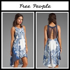 Free People Printed Russian Plate Dress